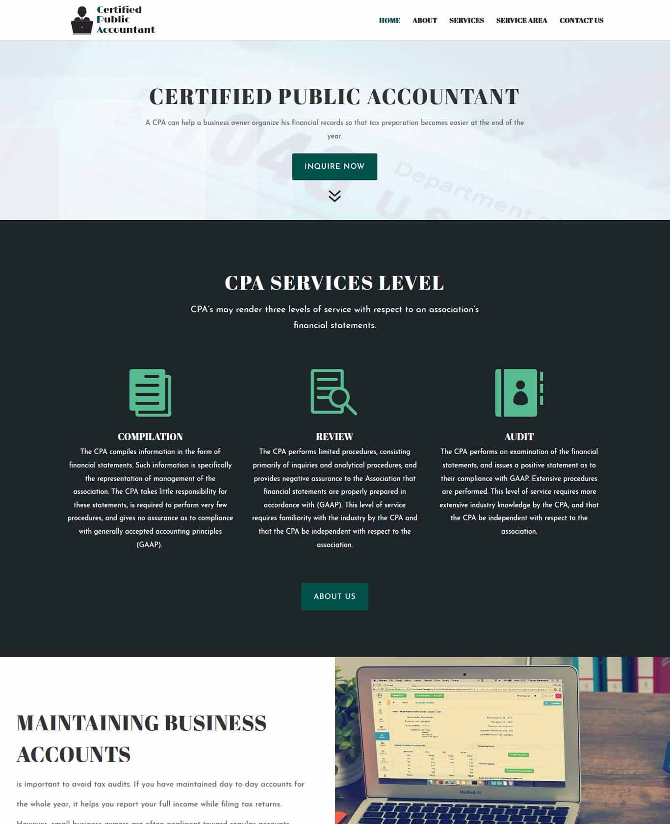 Professional Cpa Websites